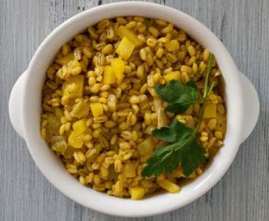 Ricetta vegana del mese (con zafferano)